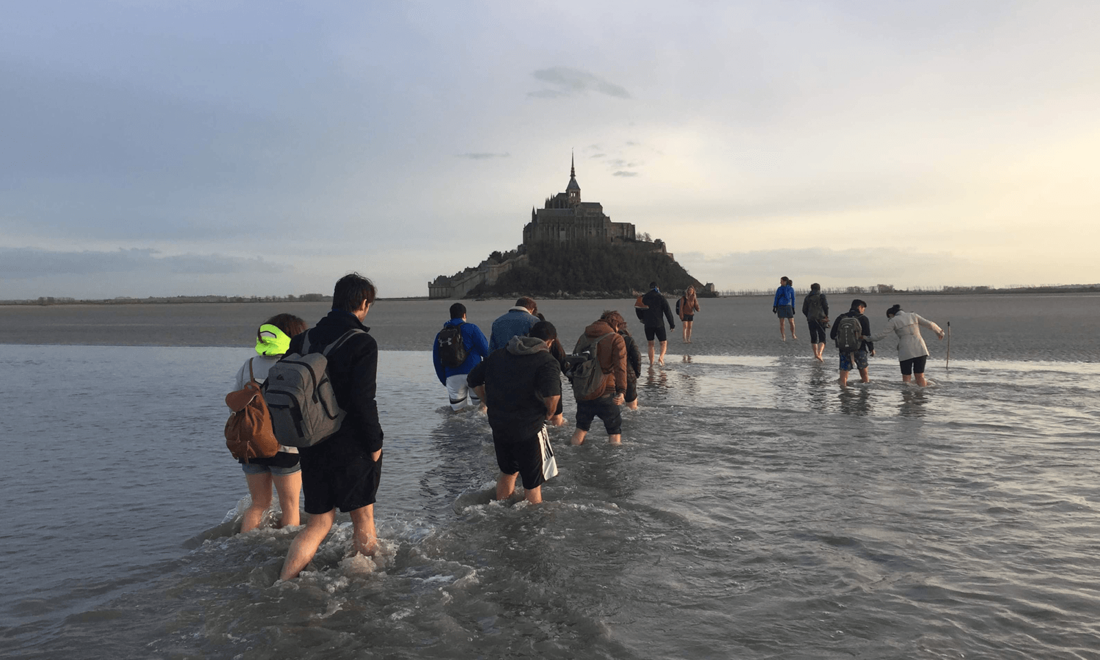 traversee baie pieds mont saint michel individuel