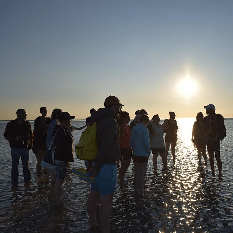 groupe traversée baie