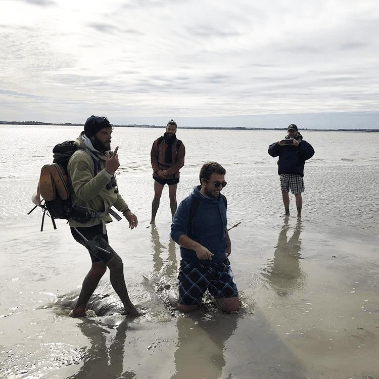 sables mouvants baie
